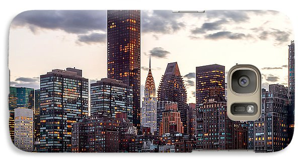 Chrysler Building Galaxy S7 Case - Surrounded By The City by Az Jackson