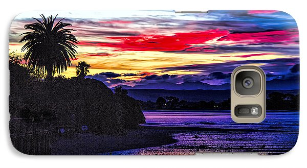 Galaxy Case featuring the photograph Suset Beach by Rick Bragan