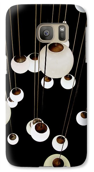 Galaxy Case featuring the photograph Suspended - Balls Of Light Art Print by Jane Eleanor Nicholas