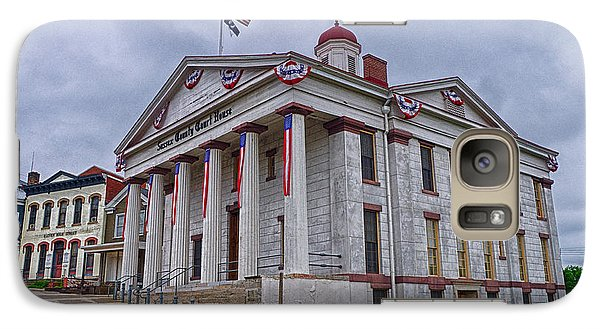 Galaxy Case featuring the photograph Sussex County Courthouse by Mark Miller