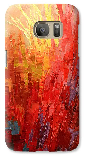 Galaxy Case featuring the painting Swagger Of A Troubador by Tatiana Iliina