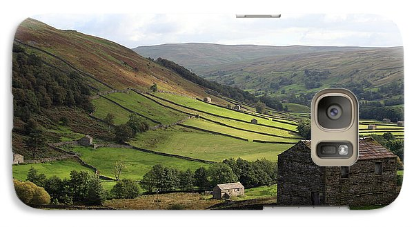 Galaxy Case featuring the photograph Swaledale  Yorkshire Dales by Paula Guttilla