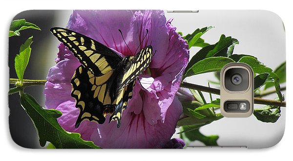Galaxy Case featuring the photograph Swallowtail Butterfly by Bonnie Muir