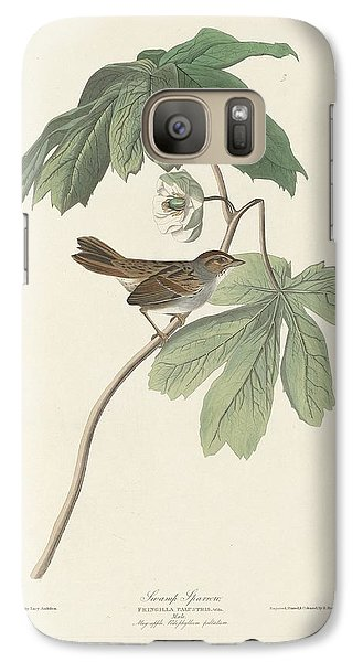 Swamp Sparrow Galaxy S7 Case