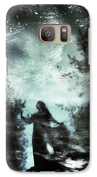 Magician Galaxy S7 Case - Swamp Witch by Cambion Art
