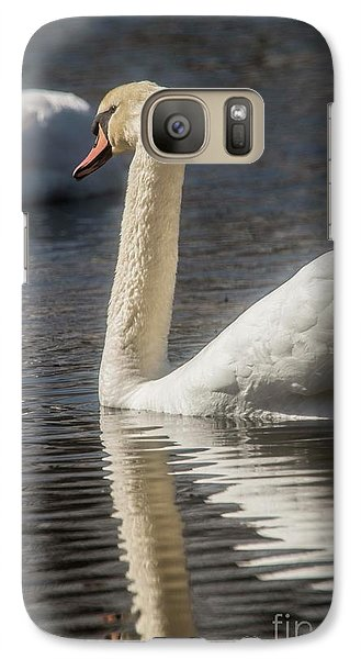 Galaxy Case featuring the photograph Swan by David Bearden