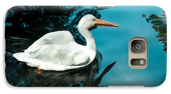 Galaxy Case featuring the photograph Swan Lake by Debbie Karnes