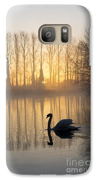 Swan Lake Galaxy S7 Case by Tim Gainey
