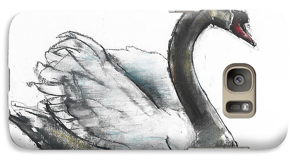 Swan Galaxy S7 Case by Mark Adlington