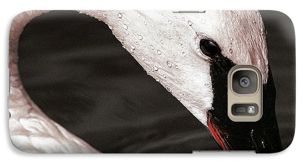 Galaxy Case featuring the photograph Swan Neck by Jean Noren
