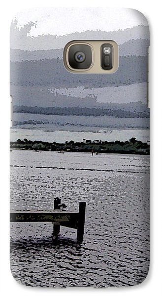 Galaxy Case featuring the photograph Swansboro Harbor by Skyler Tipton