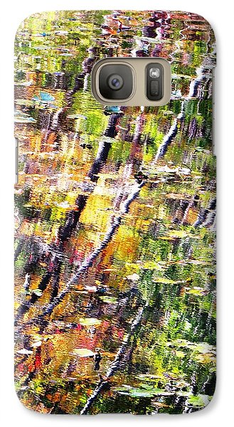 Galaxy Case featuring the photograph Raking Water  by Melissa Stoudt