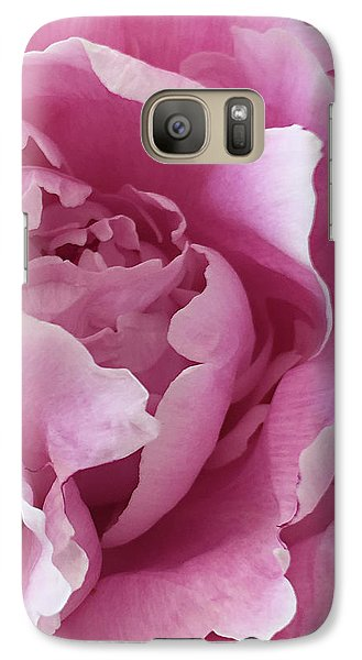 Galaxy Case featuring the photograph Sweet As Cotton Candy by Sherry Hallemeier