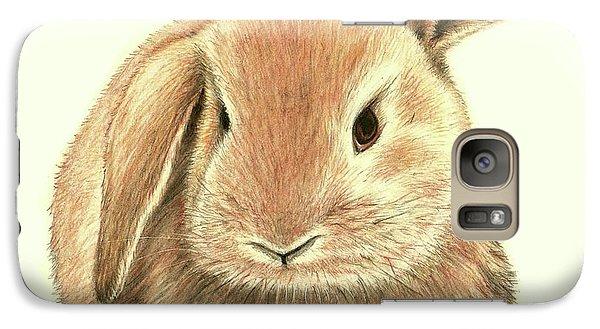 Galaxy Case featuring the drawing Sweet Bunny by Heidi Kriel