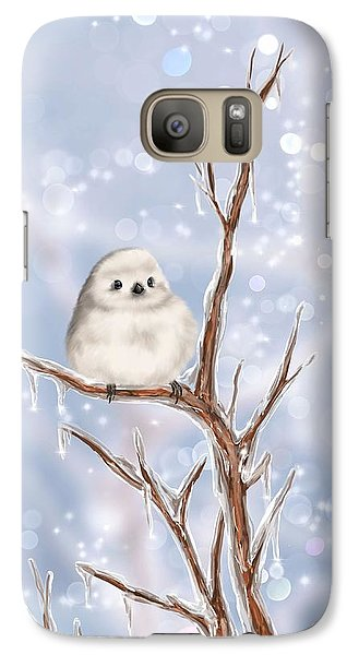 Galaxy Case featuring the painting Sweet Cold by Veronica Minozzi