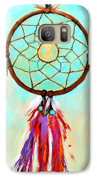 Galaxy Case featuring the painting Sweet Dream Catcher by M Diane Bonaparte