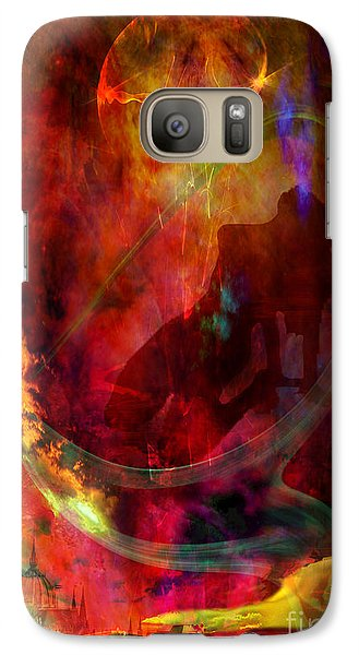 Galaxy Case featuring the digital art Sweet Dream by Johnny Hildingsson