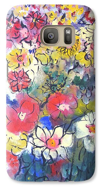Galaxy Case featuring the painting Sweet Fragrance by Gary Smith