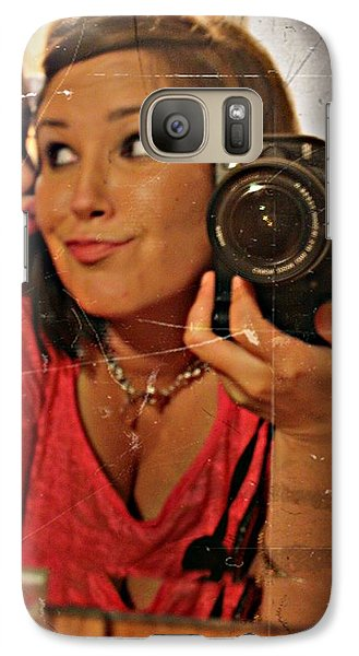 Galaxy Case featuring the photograph Sweet Innocence- Fine Art Print by KayeCee Spain