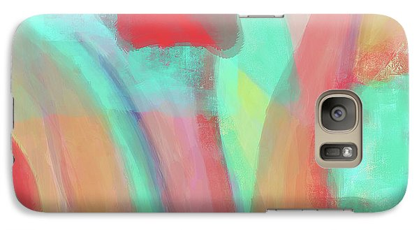 Galaxy Case featuring the digital art Sweet Little Abstract by Susan Stone