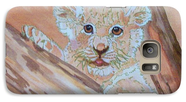 Galaxy Case featuring the painting Sweet One by Connie Valasco