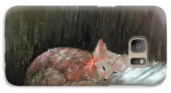 Galaxy Case featuring the painting Sweet Slumber by Trilby Cole