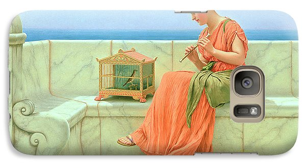 Sweet Sounds Galaxy S7 Case by John William Godward