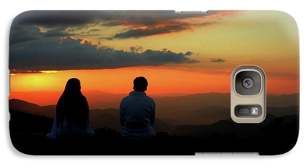 Galaxy Case featuring the photograph Sweetheart Sunset by Jessica Brawley