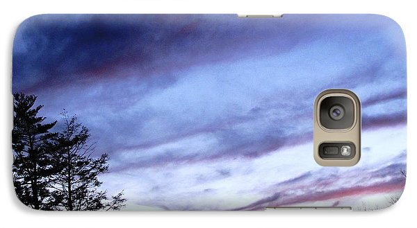 Galaxy Case featuring the photograph Swept Sky by Melissa Stoudt
