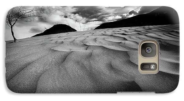Galaxy Case featuring the photograph Swerves And Curves In Jasper by Dan Jurak