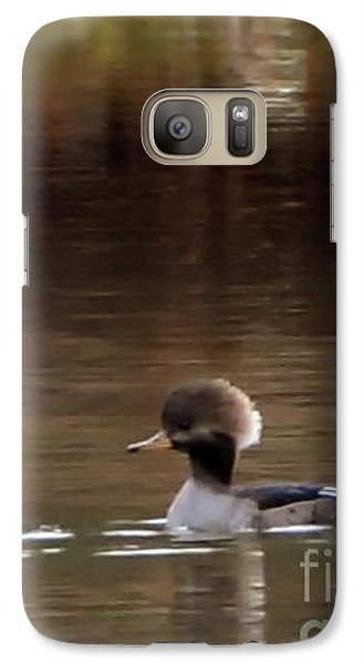 Galaxy Case featuring the photograph Swimming Alone by Tamera James