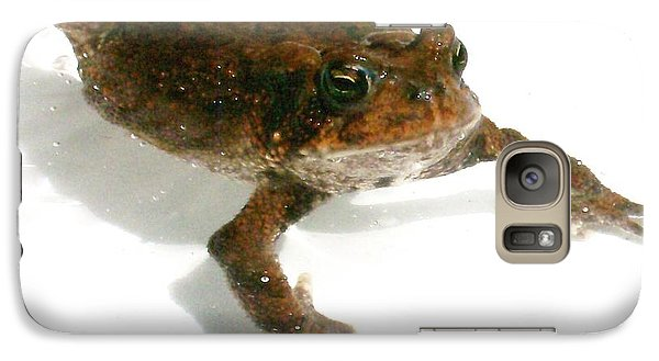 Galaxy Case featuring the digital art Swimming Toad by Barbara S Nickerson
