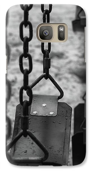 Galaxy Case featuring the photograph Swings by Richard Rizzo