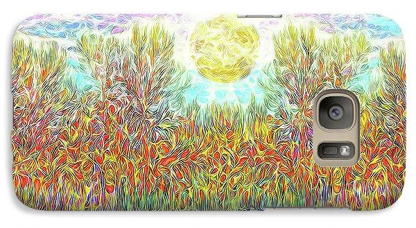 Galaxy Case featuring the digital art Swirling Brilliant Trees - Boulder County Colorado by Joel Bruce Wallach