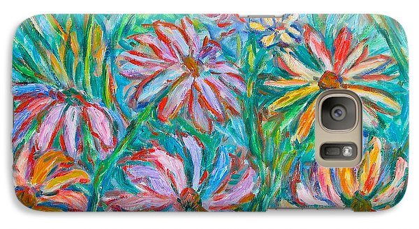 Galaxy Case featuring the painting Swirling Color by Kendall Kessler