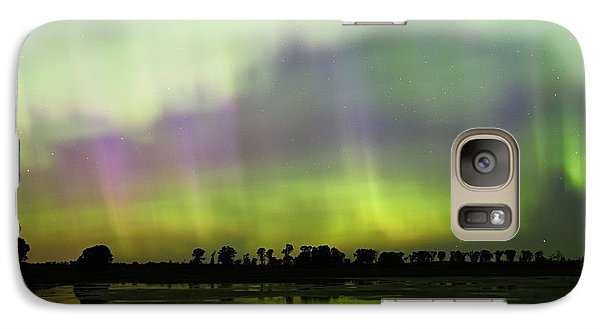 Galaxy Case featuring the photograph Swirling Curtains 2 by Larry Ricker
