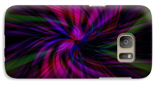 Galaxy Case featuring the photograph Swirls by Cherie Duran