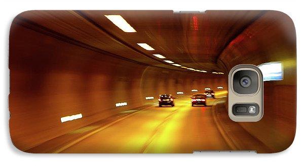 Galaxy Case featuring the photograph Swiss Alpine Tunnel by KG Thienemann