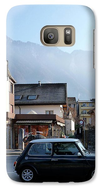 Galaxy Case featuring the photograph Swiss Mini by Christin Brodie