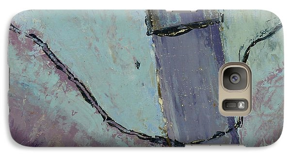 Galaxy Case featuring the painting Swiss Roof by Paul McKey