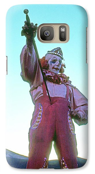 Galaxy Case featuring the photograph Sword Swallower by Laurie Stewart