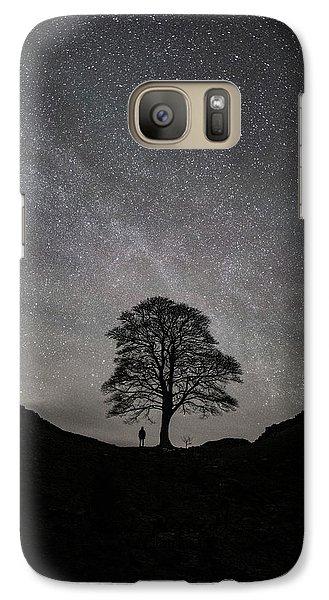 Robin Galaxy S7 Case - Sycamore Gap  by Mark Mc neill