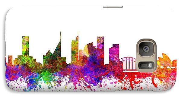 Sydney Australia Cityscape 02 Galaxy Case by Aged Pixel