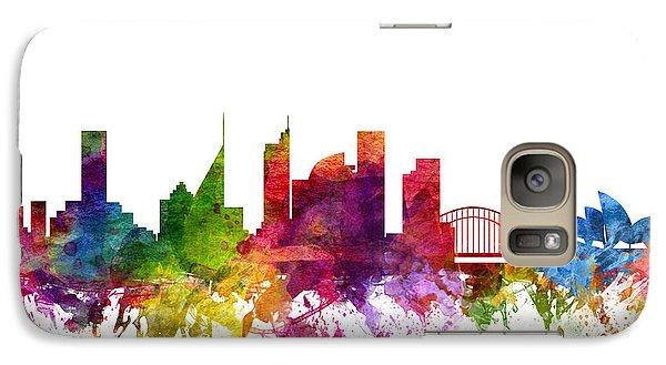 Sydney Australia Cityscape 06 Galaxy Case by Aged Pixel