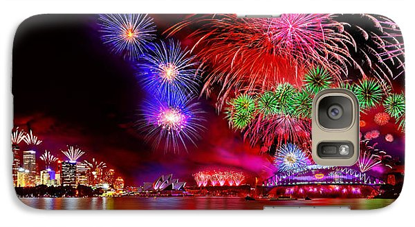 Colours Galaxy S7 Case - Sydney Celebrates by Az Jackson
