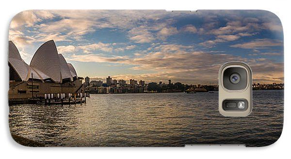Galaxy Case featuring the photograph Sydney Harbor by Andrew Matwijec