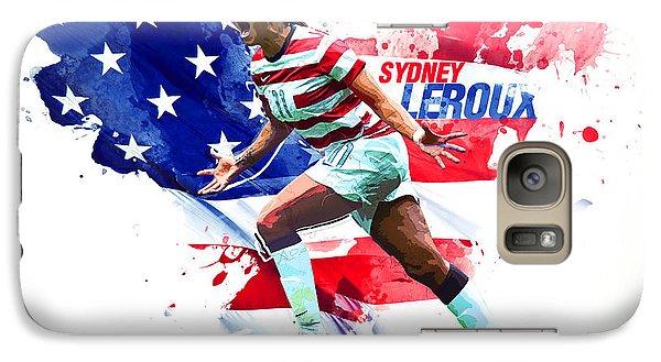 Sydney Leroux Galaxy S7 Case by Semih Yurdabak