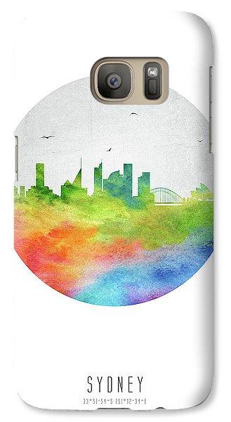 Sydney Skyline Ausy20 Galaxy Case by Aged Pixel