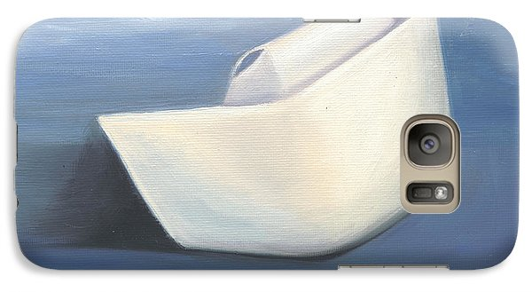 Galaxy Case featuring the painting Symbol Of A Proud Profession IIi by Marlyn Boyd
