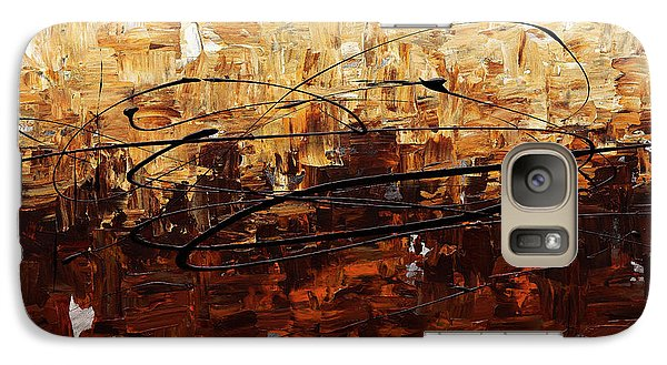 Galaxy Case featuring the painting Symphony by Carmen Guedez